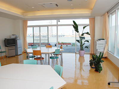 敬仁病院の食堂
