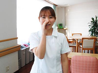 敬仁病院の談話スペース
