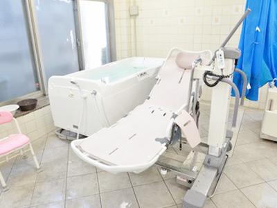 ガーデンフィールズとねり公園Big Bell の機械浴槽の浴室