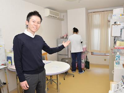 悠楽里えどがわグリーンパークの医務室