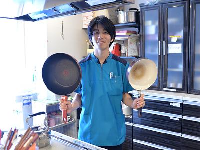 くめがわ翔裕園のグループホームのキッチン