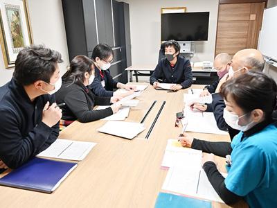 ハートテラス中野弥生町の会議室