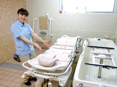 なみきロイヤルの園の浴室