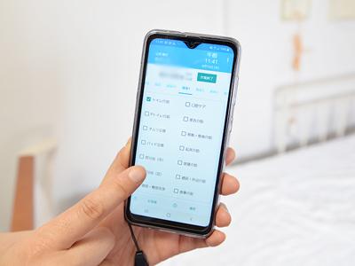 2020年7月より、介護記録をスマートフォンに切り替え、業務効率の向上とペーパーレス化を実現しています。