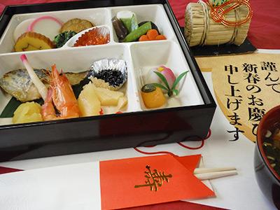 行事の際には、季節にちなんだ彩り豊かな行事食で楽しくお食事をしていただきます。