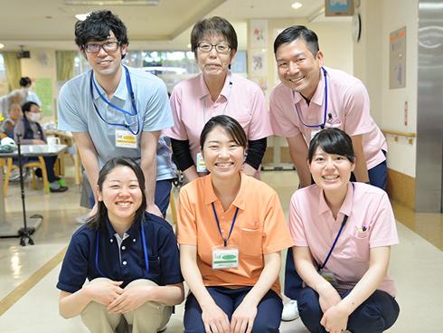 IMSグループの手厚い教育サポートが魅力。<br>職種を超えたチームワーク抜群の老健です。