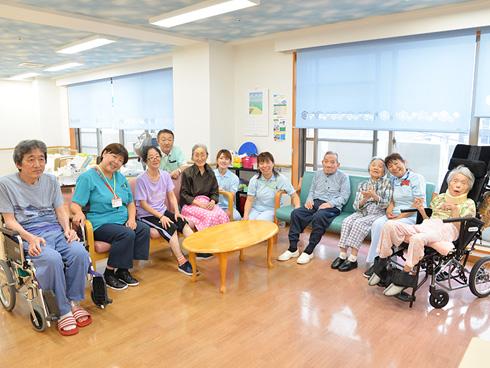 開設から3年。訪問看護、小規模多機能型居宅介護などの複合型介護事業所です。